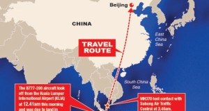 Malaysian Plane With 239 on Board Missing on Flight to Beijing