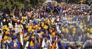 Thousand of Sikhs celebrated Delhi Fateh Diwas at Red Fort